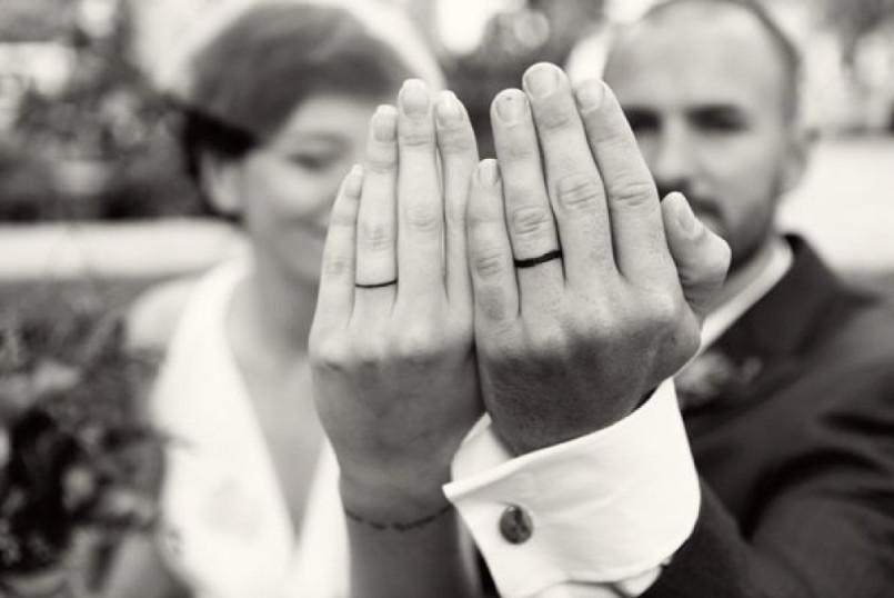 wedding alternatives tattooed wedding rings - Wedding Ring Alternatives
