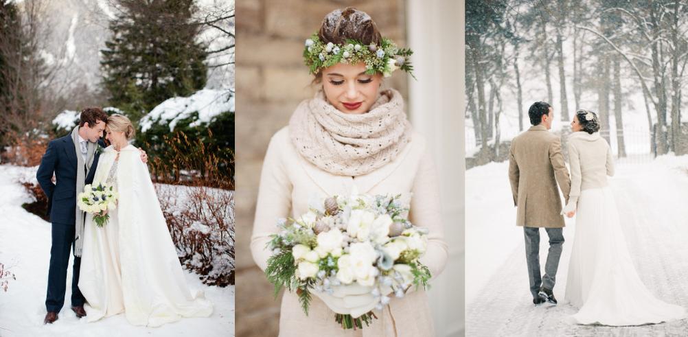 Winter Wedding Positivity